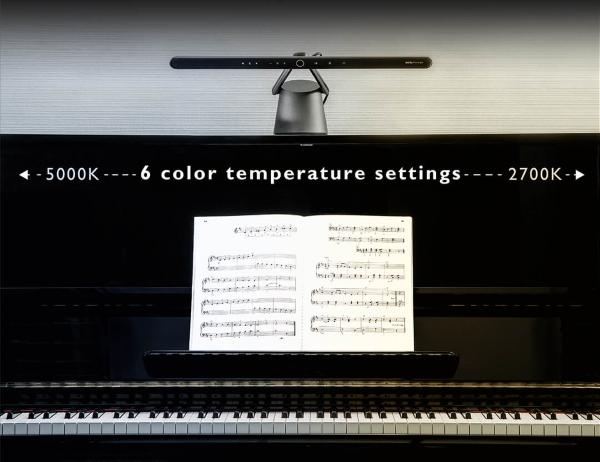 6 Different Color Temperature Settings