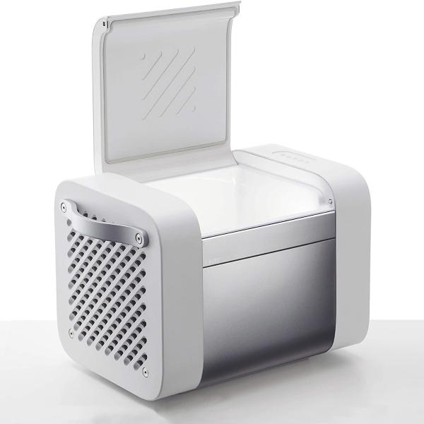 KUBE's 37 qt (35 L) storage compartment