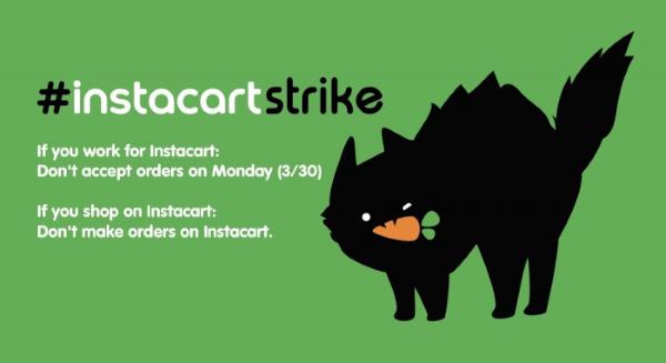 Instacart's workers got coordinated online to go on strike
