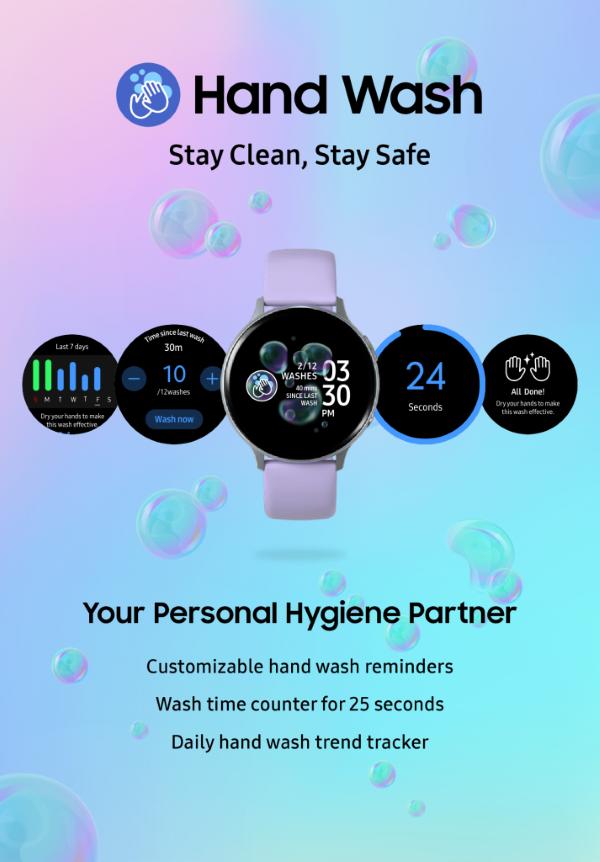 Samsung Hand Wash App