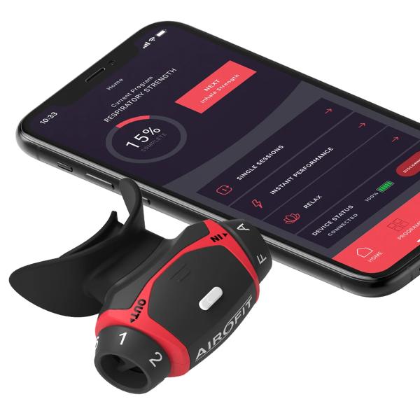 Airofit Respiratory Trainer & the Airofit App