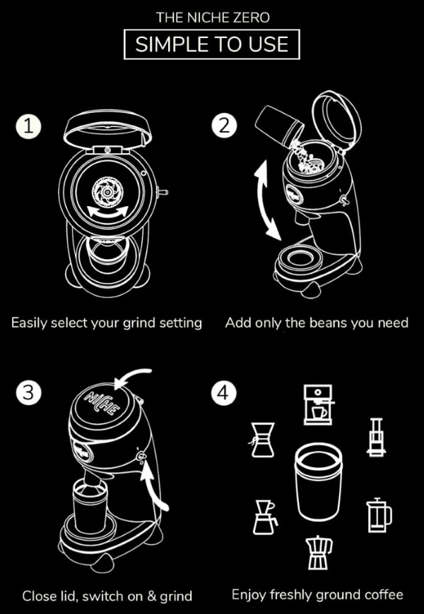 How to Use the Niche Zero Coffee Grinder