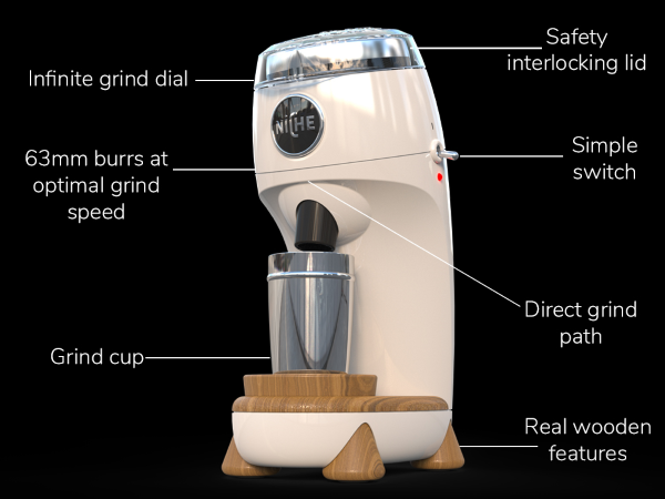 Niche Zero Coffee Grinder - Design & Components