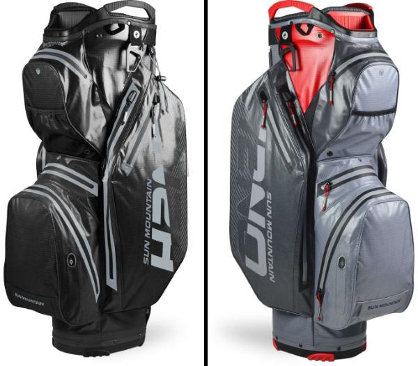 Sun Mountain H2NO Staff Cart Bag - 2 Different Color Models