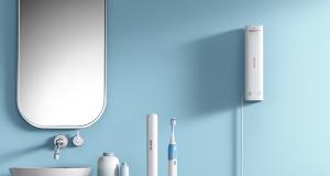 BESTEK M-Care Sonic Electric Toothbrush & UV Sanitizer Station