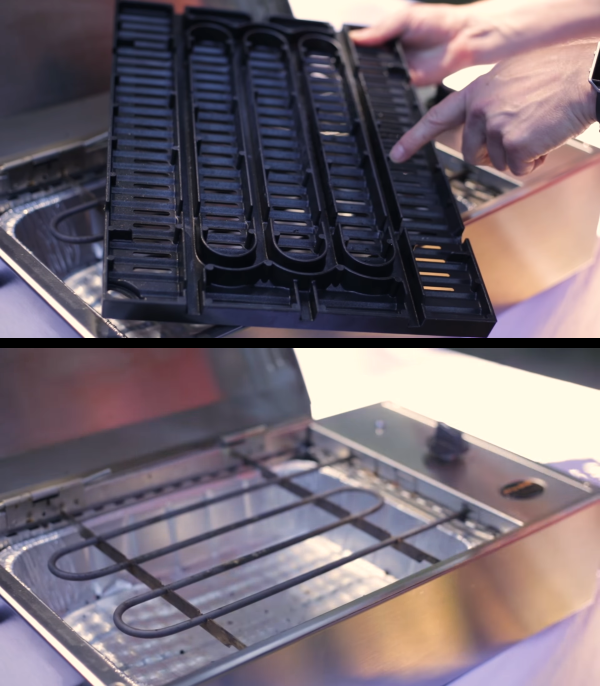 Its cooking grid features really deep heating channels that allow the grill to achieve really high temperatures