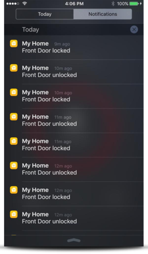 Premis App - Lock Status Notifications (Smartphone Push Notifications)