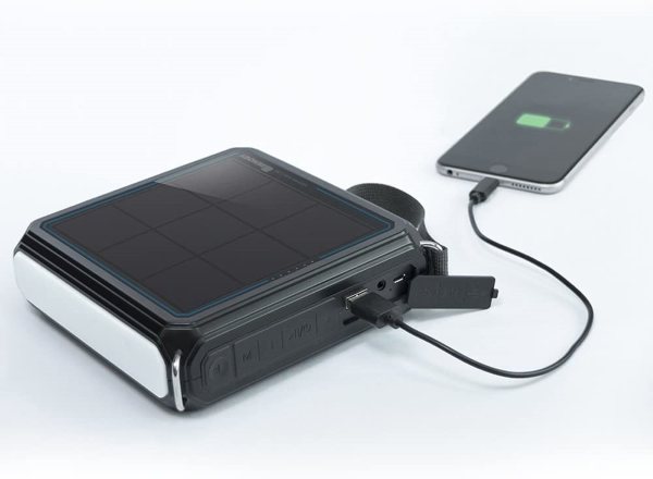 Renogy E.TUNES - Doubles as a powerful and reliable 5000mah portable power bank