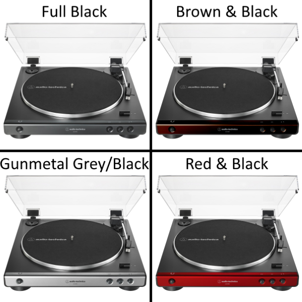 Audio-Technica AT-LP60X Turntable - Available in 4 Different Color Models