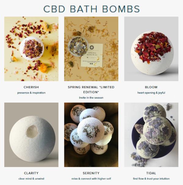 Vital You CBD Bath Bombs