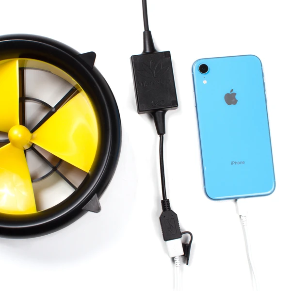 WaterLily Turbine - Recharge any USB-compatible devices