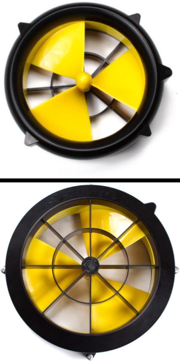Cass-Leading Blade Design