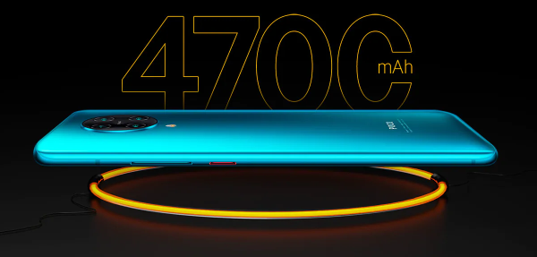Equipped with a 4,700mAh (typ) high-capacity battery that supports Fast Charging