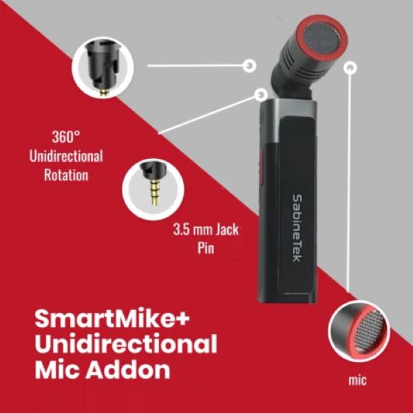SmartMike+ Unidirectional 360º Mic Addon