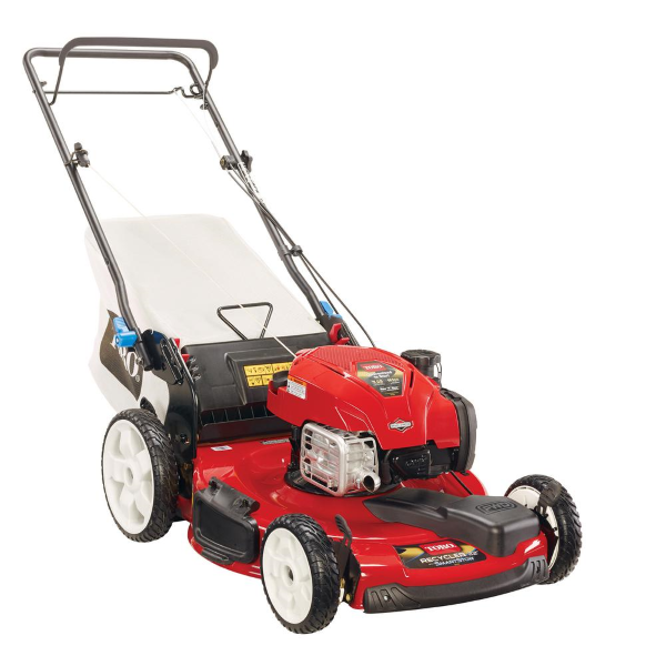 "Toro Recycler 22"" SMARTSTOW - Equipped with a durable steel deck"