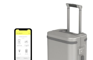 Samsara Smart Carry-On Suitcase