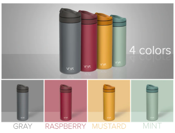 VIVA Recharge Travel Mug - Available in 4 Different Color Models