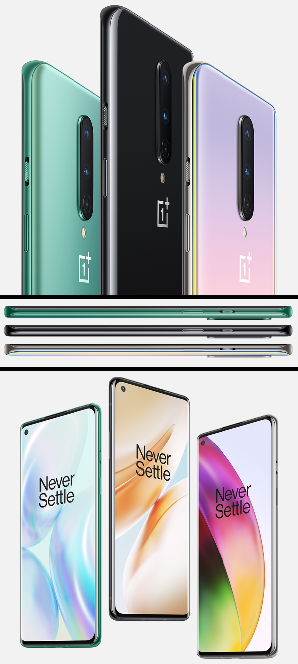 OnePlus 8 Smartphone - Available in 4 Different Color Models