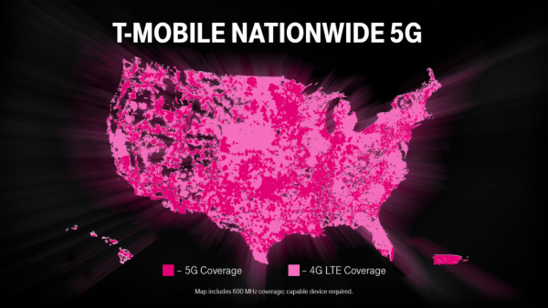 T-Mobile is now offering 5G in all 50 states