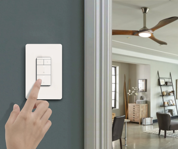Treatlife Smart Ceiling Fan Control and Light Dimmer Switch