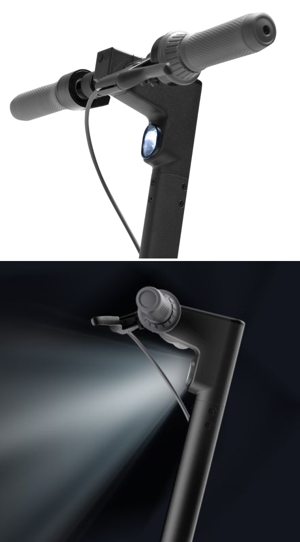 Equipped with a built-in 2.5w high-brightness Front LED Light