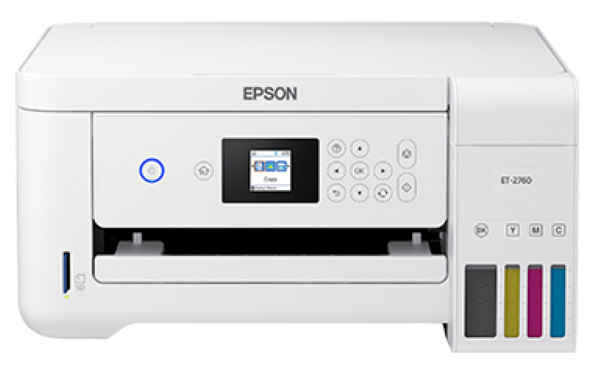 Epson EcoTank ET-2760 - Measurements (when closed)