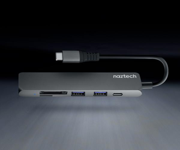 Naztech USB-C Hub Adapter