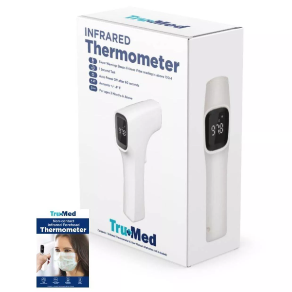 Tru+Med Infrared Thermometer