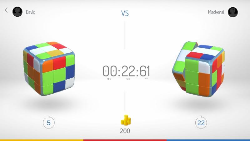 GoCube App - Go-Go-Compete Mode