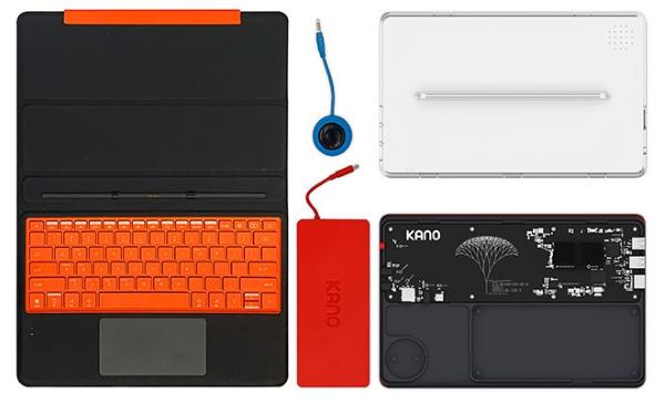 Kano PC - Design (Fully Dismounted)