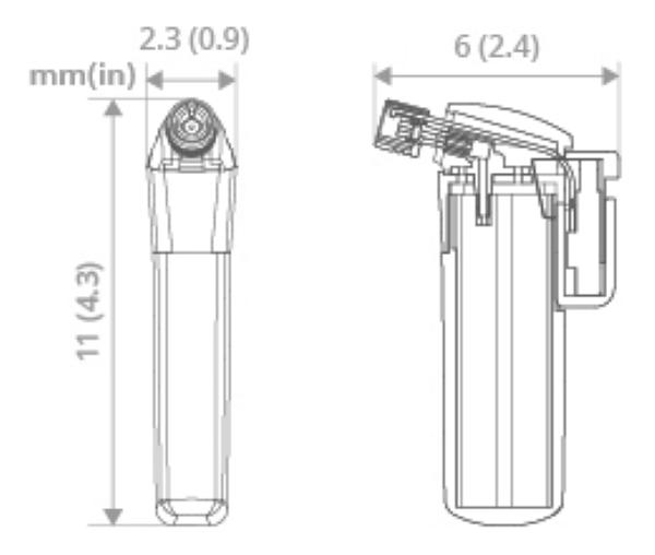 SOTO Pocket Torch - Measurements