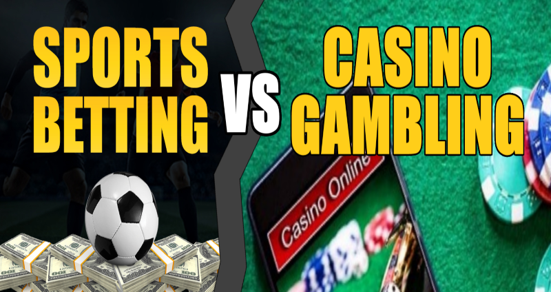 Sports Betting Vs Casino Gambling - Main Similarities & Differences