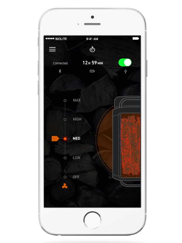 BioLite Energy App