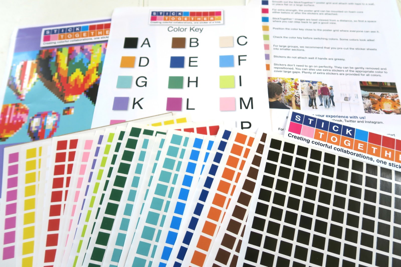 StickTogether Puzzle Poster Kits