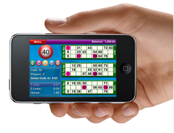 Pass the Time Bingo Online Mobile Game