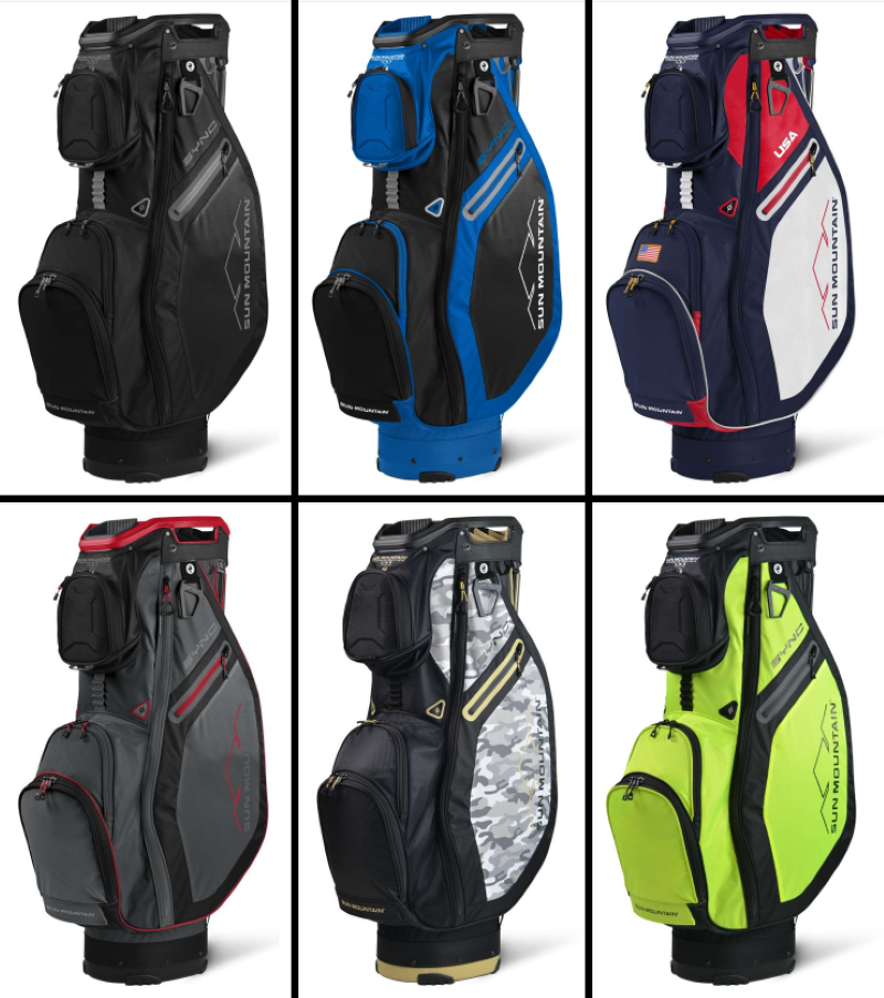 SYNC Golf Cart Bag - Available in 6 Different Color Models