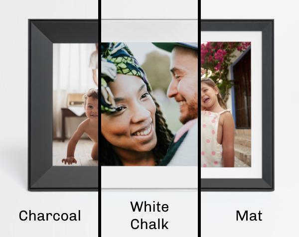 Aura Frames Carver Digital Frame - Available in 3 Different Color Models