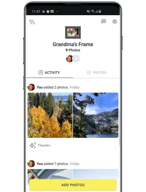 Aura Frames App