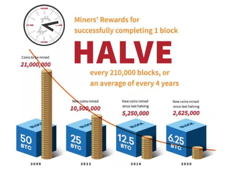 Bitcoin Finite Supply Infograph - Image Source: Investopedia.com