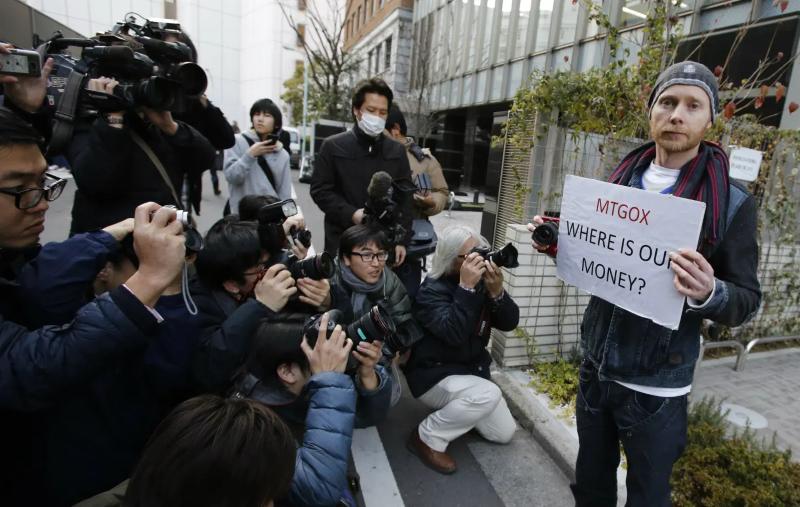 Bankrupt Mt. Gox's customers protest for an immense windfall - Image Source: Qz.com (Quartz)