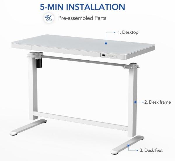 FlexiSpot Comhar All-in-One Standing Desk