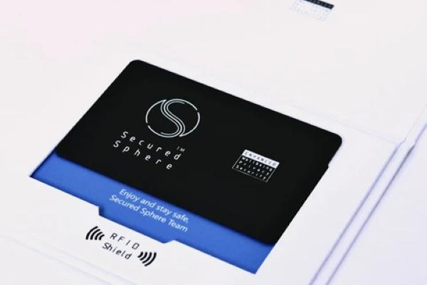 Secured Sphere RFID Shield Card