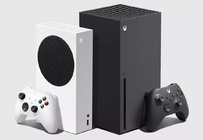 Xbox Series X (Black) and Xbox Series S (White)