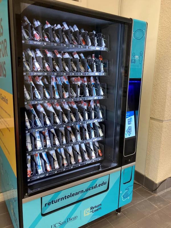 COVID-19 Test Kit Vending Machines