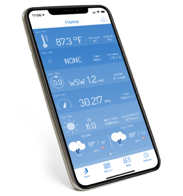 Tempest Weather App - Wind Conditions Dashboard