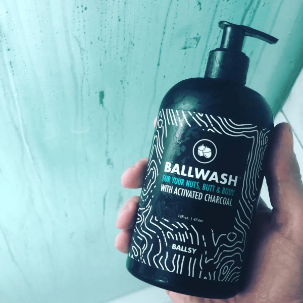 Ballsy Ballwash Nut, Butt, and Full-Body Wash (with Activated Charcoal)