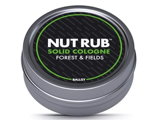 Ballsy Nut Rub Solid Cologne