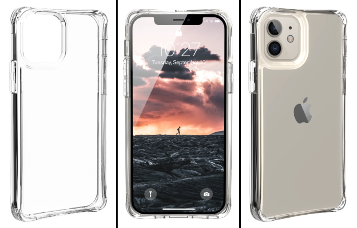 UAG iPhone 12 Cases - Plyo Crystal Series iPhone 12 5G Case