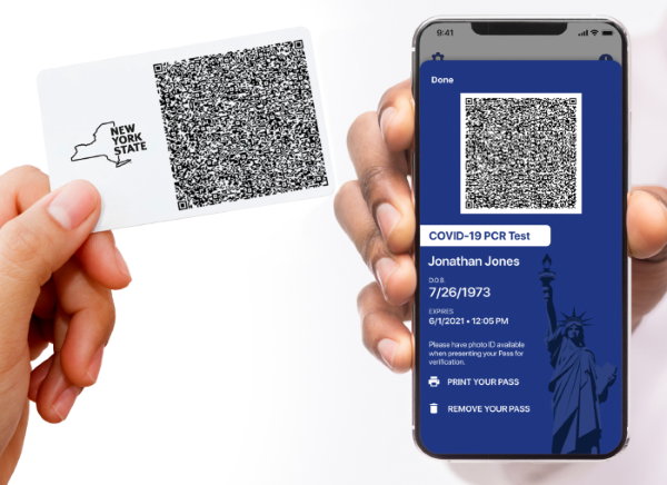 NYS Excelsior Pass Wallet App