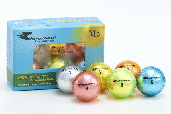 Chromax Metallic M5 Color Mixed 6 Ball Pack